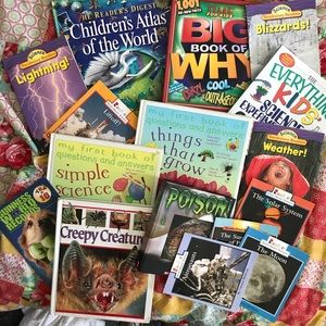 Other - Bundle of History, Geo. & Science Books for Kids